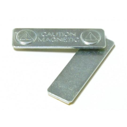 MAGNABADGE : Barrette adhésive aimantée métal - Accueil
