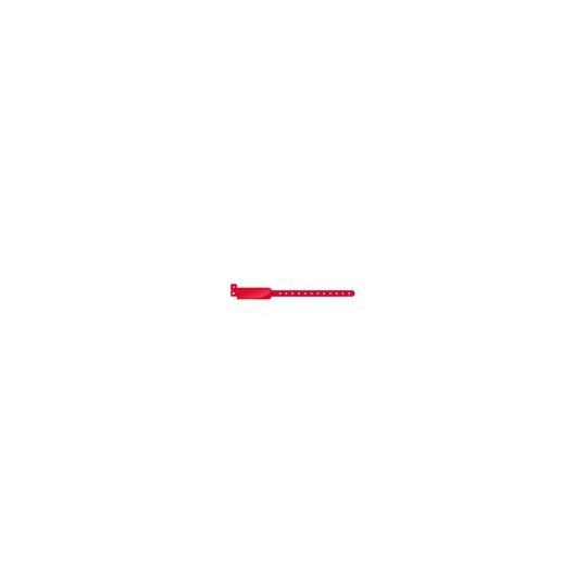 BRACELET VINYLE MODELE EXTRA LARGE ASPECT BRILLANT - Rouge vif - Accueil