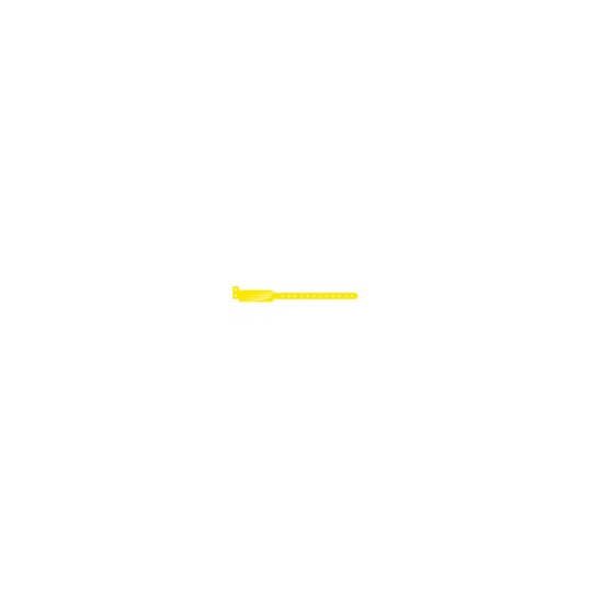 BRACELET VINYLE MODELE EXTRA LARGE ASPECT BRILLANT - Jaune - Accueil