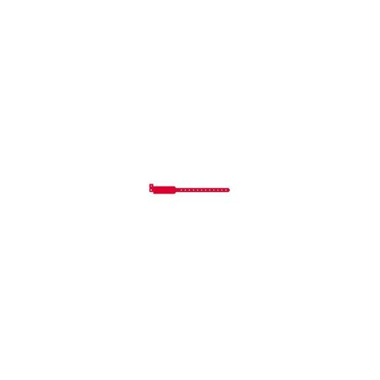 BRACELET VINYLE MODELE EXTRA LARGE ASPECT MAT - Rouge - Accueil