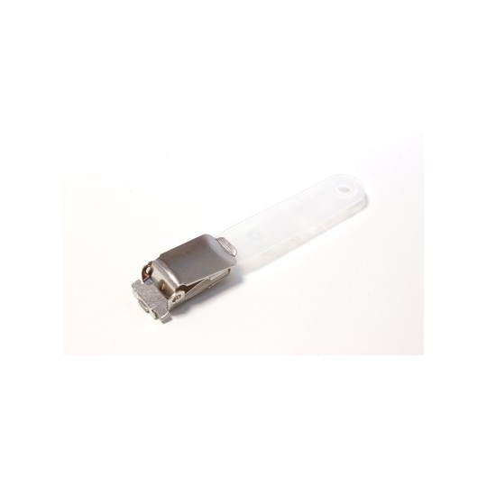 IDS 16 : Pince bretelle avec lanière translucide - Accueil