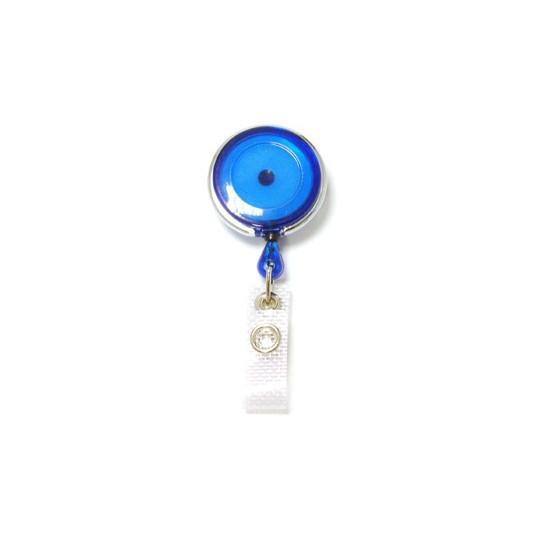 IDS 950 PM - ZIP ROTATIF CERCLE METAL + LANIERE RENFORCEE - Bleu Translucide - Accueil
