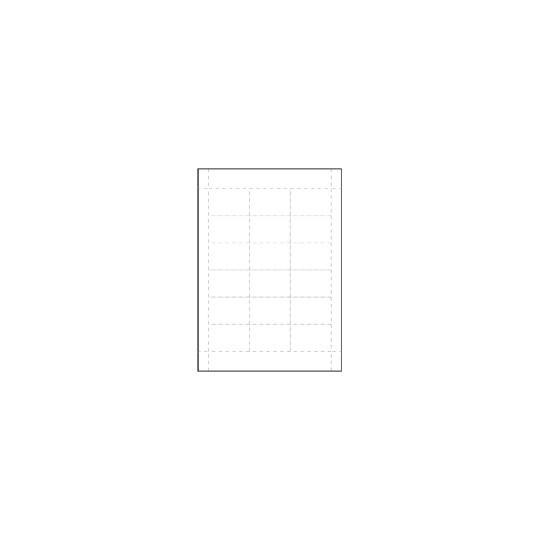 INSERTS PRE-DECOUPES POUR BADGES CONFERENCE - Format IDC 40.2 - Accueil