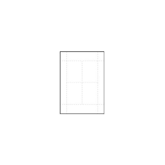 INSERTS PRE-DECOUPES POUR BADGES CONFERENCE - Format IDC 40.1 - Accueil