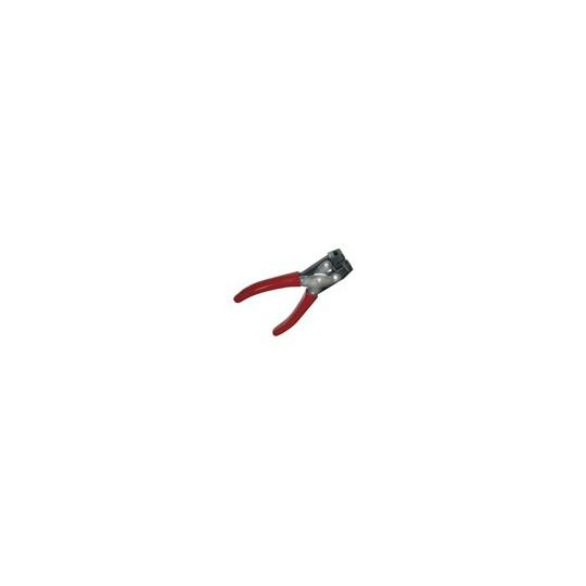 PINCE DE PERFORATION POUR CARTES PLASTIQUE - UTILISATION INTENSIVE - Perforation oblong (14 x 3 mm) - Accueil