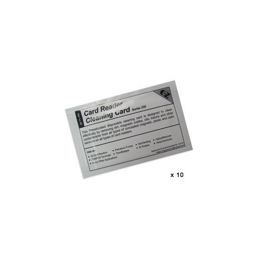 Cartes de nettoyage (lot de 10) SP35 SP55 - Accueil
