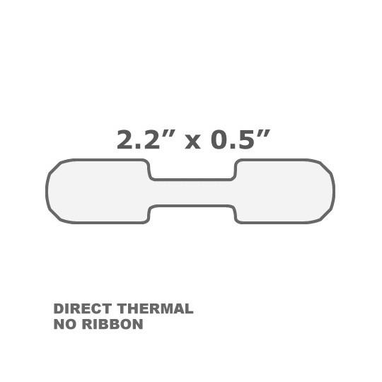 Etiquette Bijouterie Thermique - Format 56 x 12 mm - Adhésif Permanent