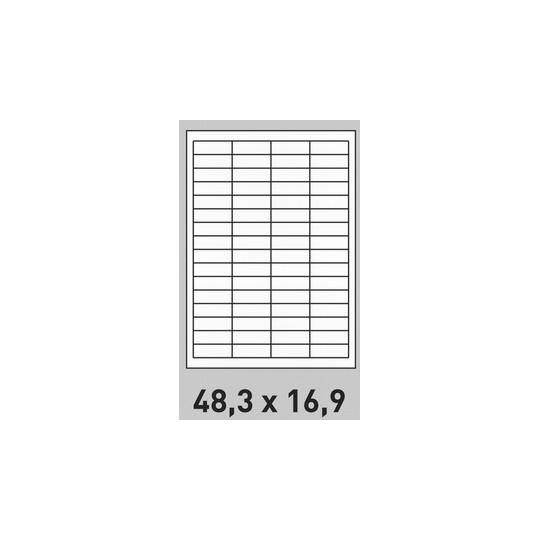 étiquette, planche, A4, A5