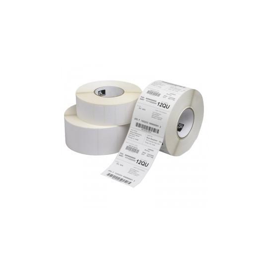 Thermique 38 x 25 mm - Blanc Adhésif Permanent