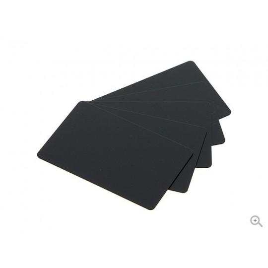 Cartes Noires Mat PVC-V Evolis - Pack de 500 - Réf : C8001