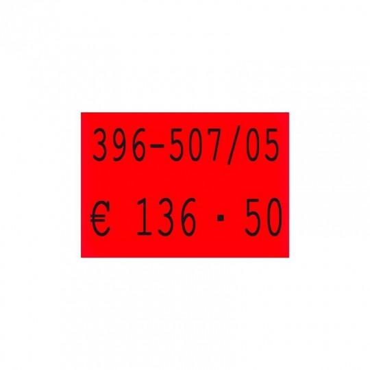 Etiquette pour pince SATO PB DUO 16 - 18x16mm Réf: EP216F-005
