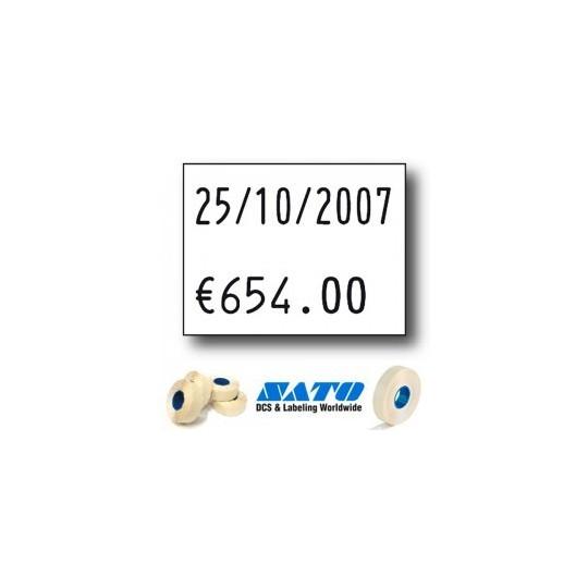 Etiquette pour pince SATO PB3-208 - 30x20,8mm Réf: EP208C-071