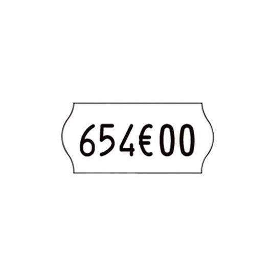 Etiquette pour pince KENDO 26 - 26x12mm Réf: EP26C-041