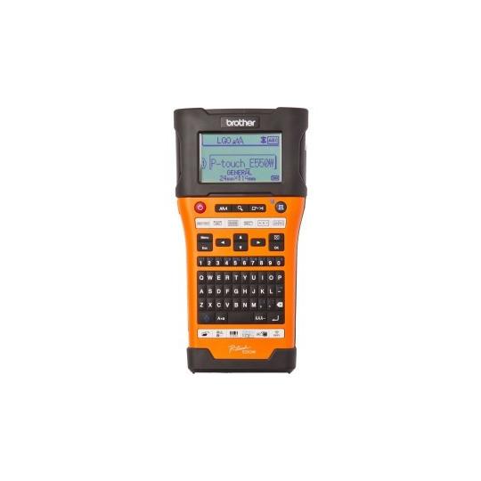 Etiqueteuse électronique Brother P-touch PT-E550WVP - Réf: PTE550WVPYP1