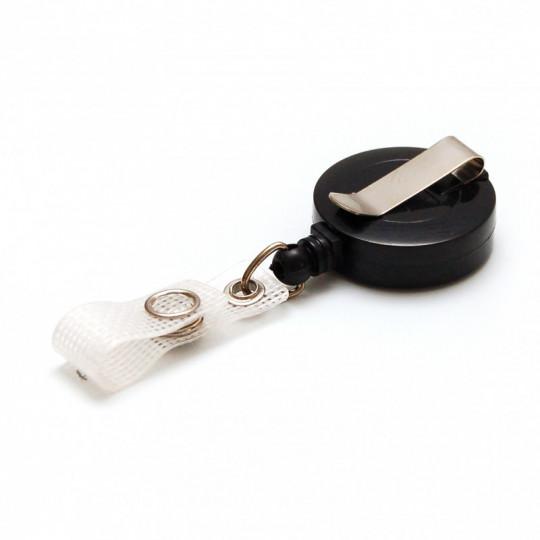 IDS 940 : ZIP BOITIER PLASTIQUE COULEUR - Ø 30 mm - Noir