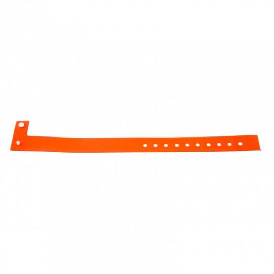 BRACELET VINYLE MAT TYPE-L - Orange Réf : 1474016