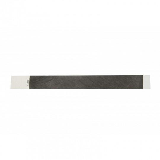 BRACELET TYVEK NUMEROTE LARGEUR 25 MM (EMBALLAGE PAR 100) - Noir Réf : 1474236