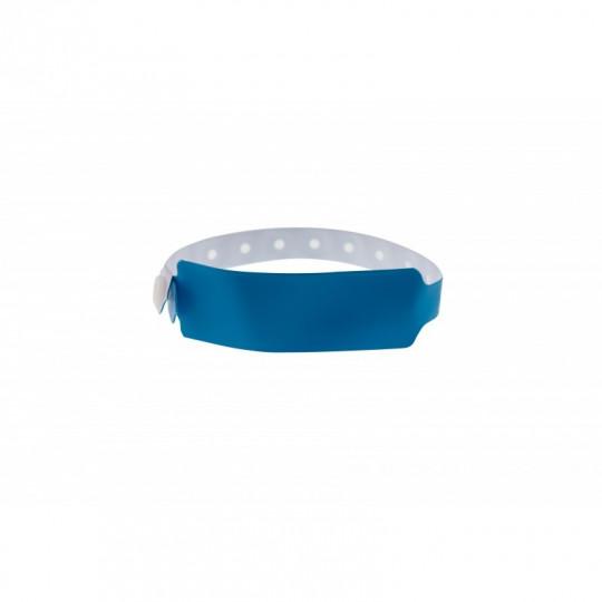 BRACELETS EVENEMTIELS VINYLE MODELE EXTRA LARGE ASPECT MAT - Bleu roi Réf : 1474042