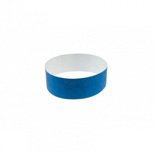 BRACELET indéchirable TYVEK NUMEROTE LARGEUR 25 MM  - Bleu roi Réf : 1474248