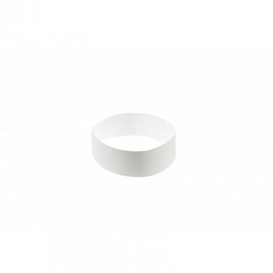 BRACELET indéchirable TYVEK NUMEROTE LARGEUR 25 MM  - Blanc Réf : 1474240