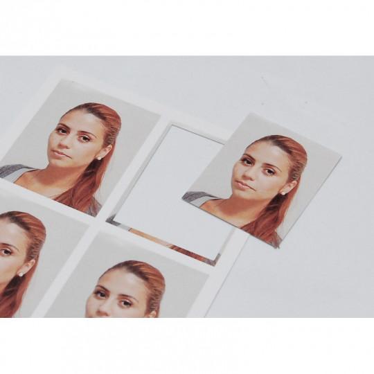 IDS 303 : PINCE DE DECOUPE PHOTOS (35 x 40 mm) - coins droits Réf : 1230040