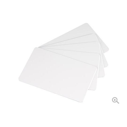 Carte PVC EVOLIS Blanche Format CR80 Lot de 500 - Réf : C4001