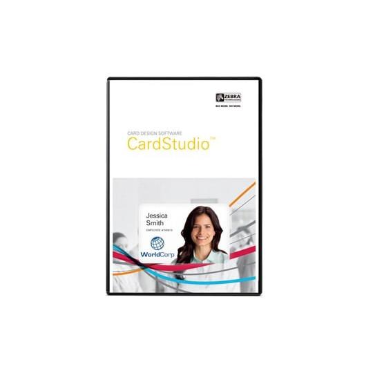 Logiciel ZEBRA CARDSTUDIO STANDARD - Réf: P1031774-001