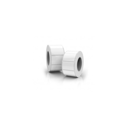Etiquette Polypro Blanc Brillant Jet D'Encre - 7,62 x 12,7 cm (LX800e/LX900e) - Réf: 075908HIS
