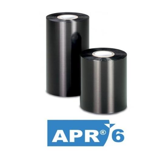 Ruban De Transfert Thermique CIRE/RESINE APR6 50x300m - Réf : T42521IO (Ancienne Réf : T42521ZA)