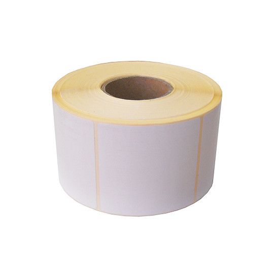 102x49mm - Étiquette Thermique Blanc Adhésif Permanent - Réf: GB-01410