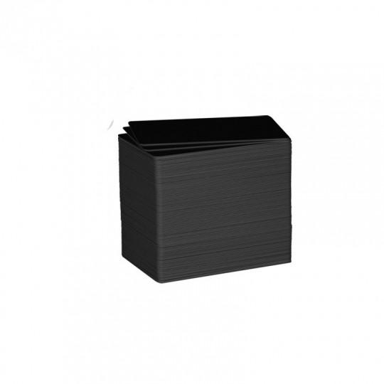 Carte PVC noire mat C8001 EVOLIS