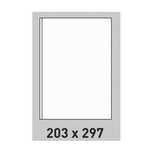 Etiquette en planche 203 x 297 mm-200 étiquettes-Réf : 0203