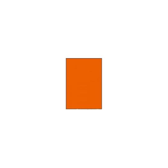 Etiquette en planche A4 orange 210 x 297mm - Réf : 4034