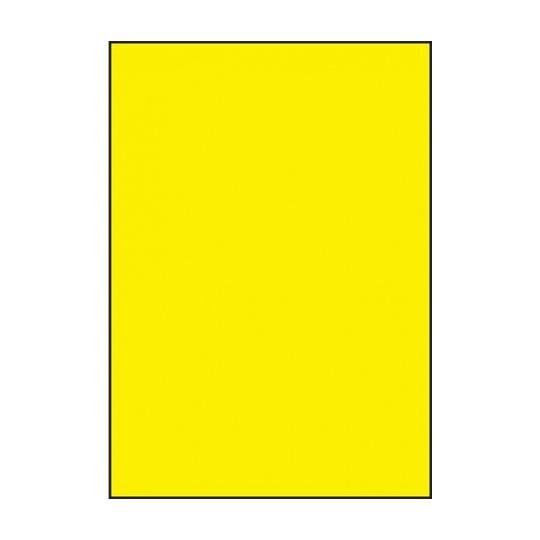 Etiquette en planche Jaune A4 210 x 297 mm - Réf : 2632