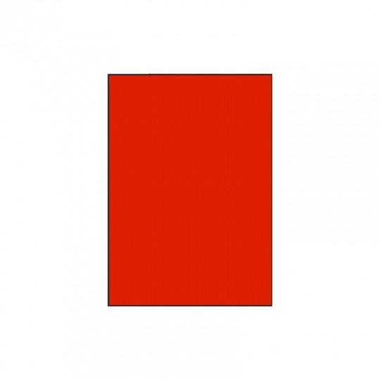 Etiquette en planche A4 rouge 210 x 297 mm - Réf : 2633