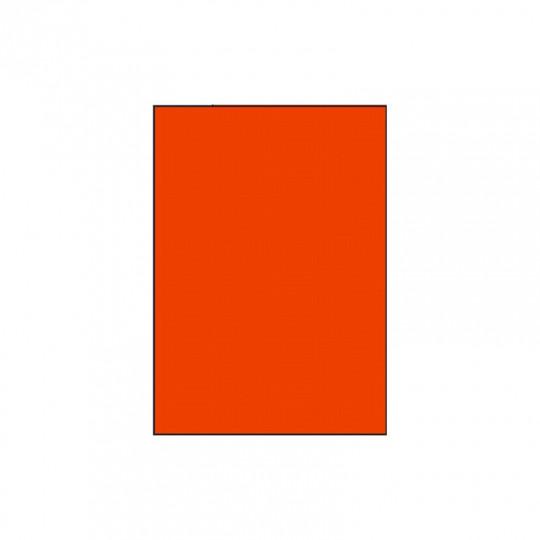 Etiquette en planche A4 Orange 210 x 297 - Réf: 4030