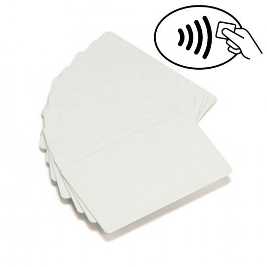 Carte PVC MIFARE1K vierge blanche 86x54mm - Réf: MIFARE1KE