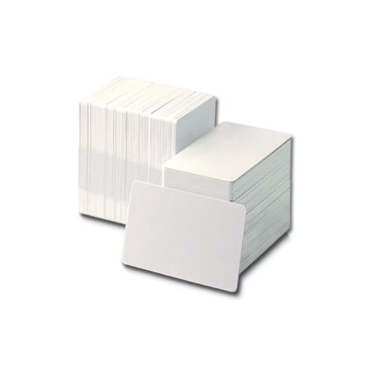 Cartes PVC 0,76mm format CR80 (Lot de 500) - Consommables cartes