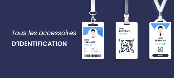 Tous les accessoires d'identification