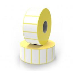 Étiquette en bobines, planches, paravent et rouleaux